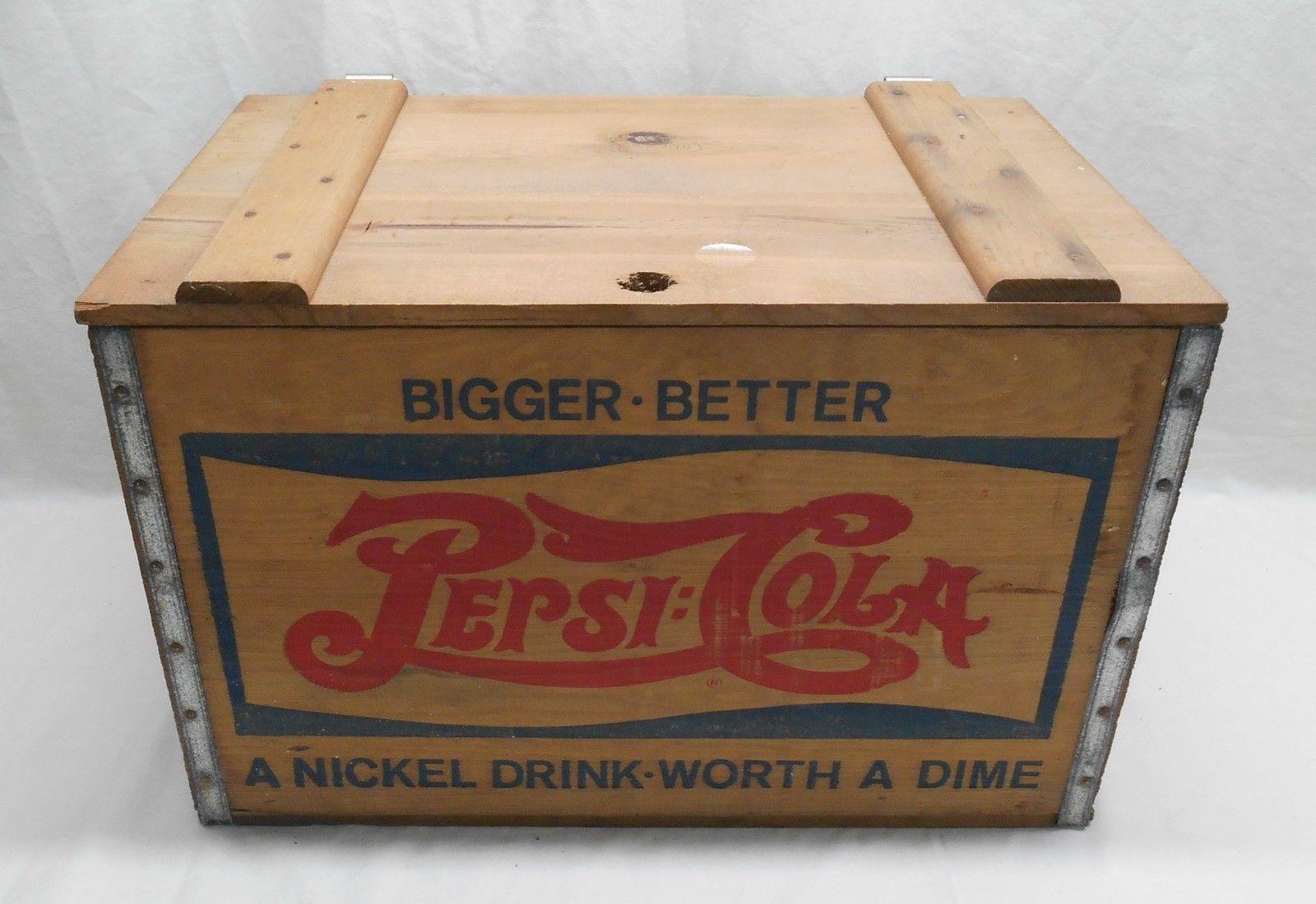 Vintage Pepsi Cola Bigger Better Nickel And 50 Similar Items