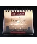 Wisdom For Each Day Billy Graham NEW Daybrightener Perpetual Flip Calendar - $13.87