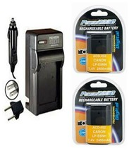 2X LP-E6NH, Batteries + Charger for Canon SLR EOS R5, EOS R6, EOS Ra, EO... - $59.39