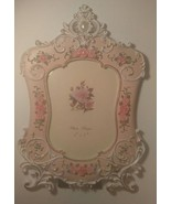 "Madame Posh 'Anabelle' English Rose picture frame size 5""x 7"" - $14.74"