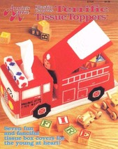 Terrific Tissue Toppers Annie's Plastic Canvas Pattern Booklet 87T26 Fis... - $7.95