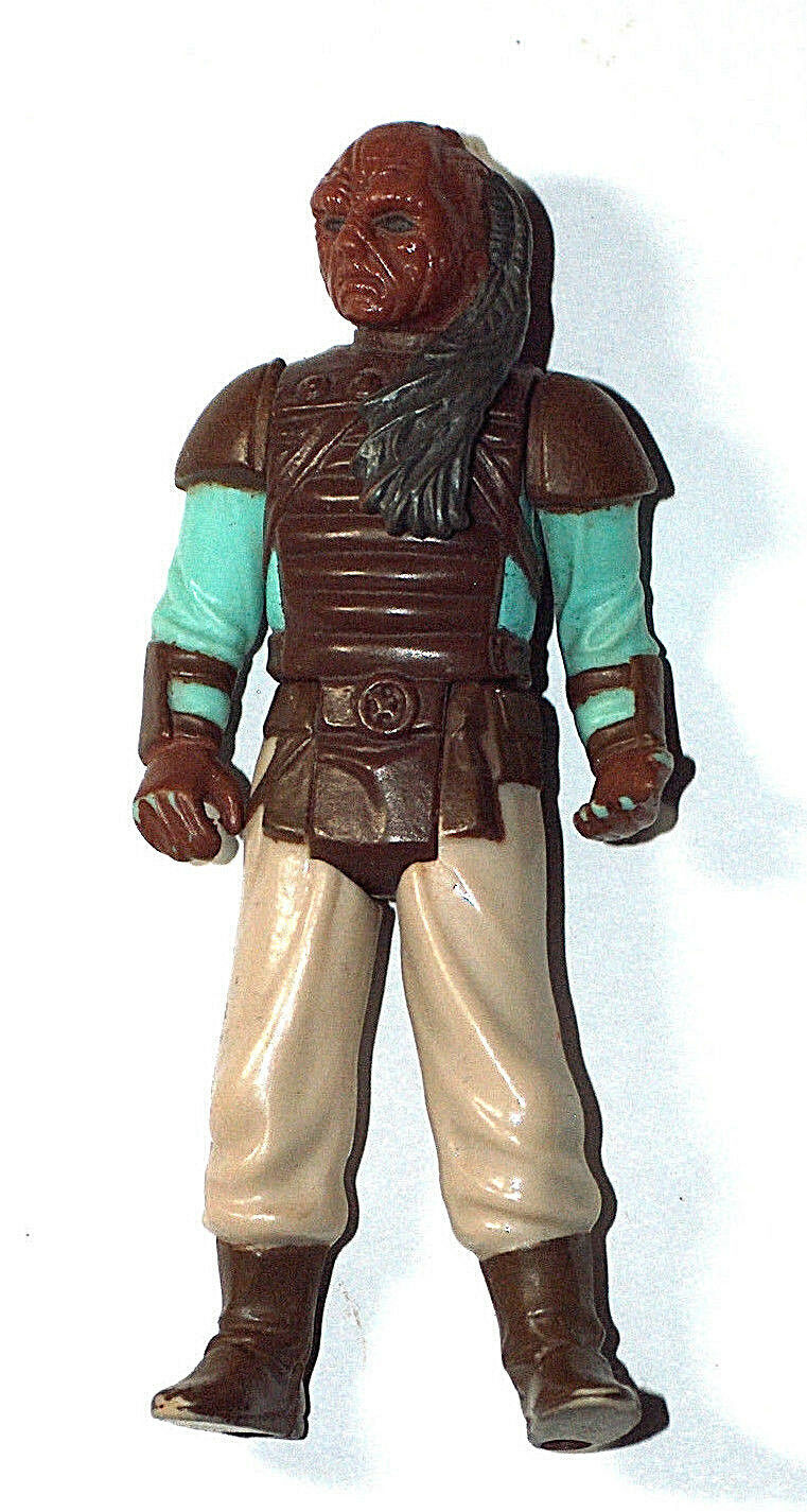 Vintage 1983 Kenner Original Star Wars Weequay Mini Figurines Jouet Lfl
