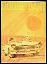 1964 Dodge Dart Deluxe Brochure Original 64 - $6.18