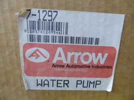 AMC Water Pump Remanufactured By Arrow P/N 7-1297, 8125501, 8129459 image 2