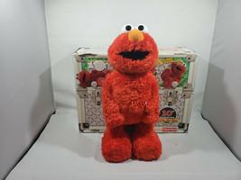 Fischer Price Tickle Me Elmo TMX 10th Anniversary Animated Figure Doll S... - $22.99