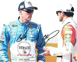 2X AUTOGRAPHED Kevin Harvick & Chase Elliott 2016 Sprint Cup Series (#4 ... - $152.95