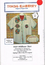 Floral Embellishment Pattern for Wildflower Shirt - $6.00