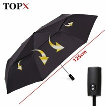 TopX® 125cm Big Automatic Quality Double Layer Umbrella 3Fold Windproof - $34.55