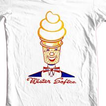Mr. Softee T-shirt retro ice creat truck 70's 80's old style 100% cotton tee image 2
