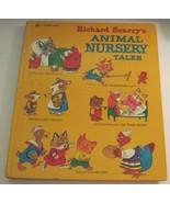 Richard Scarry's Animal Nursery Tales 1975 Vintage Book Oversized Hardcover - $15.83