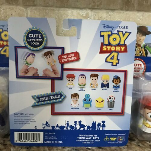 Disney Pixar Toy Story 4 Finger Puppets Complete Set In Hand Ready To Ship ASAP!