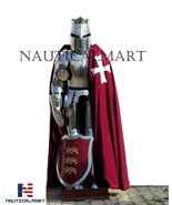 Medieval Knight Crusader Full Suit Of Armor - Wearable Cosplay Costume  - $999.00