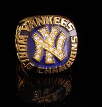 Vintage Baseball Ring - 1977 championship - New York Coach gift -  Yankees image 1