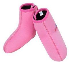 Kid Snorkeling Socks Pink Scuba Diving Socks 3MM, SMALL(3-7 Years Old) - $18.41