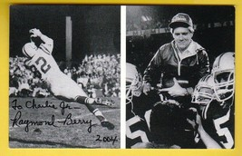 RAYMOND BERRY AUTOGRAPHED CARD 4 X 6 INCHES BALTIMORE COLTS INSCRIBED  - £4.27 GBP