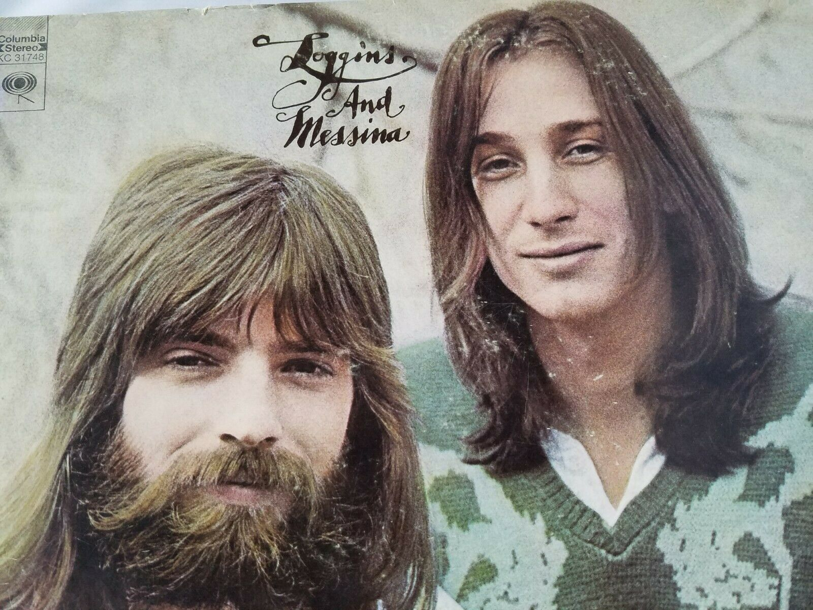 Loggins And Messina Vinyl Record Vintage Self Titled 1972 CBS