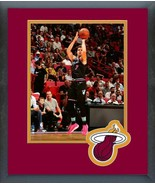 Goran Dragic 2018-19 Miami Heat -11x14 Team Logo Matted/Framed Photo - $43.55