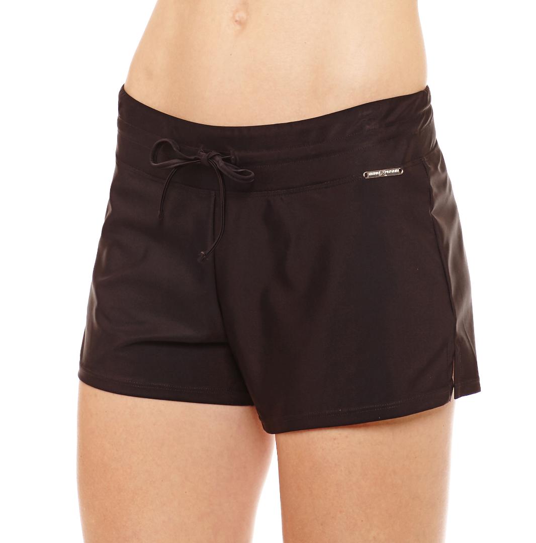 Zeroxposur Swim Shorts Size 8, 10 Liquorice New Msrp $49.00