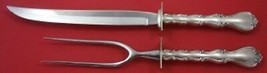 "Strasbourg by Gorham Sterling Silver Roast Carving Set 2-piece Knife 13""  - $209.00"