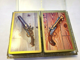 Dueling Pistols by Stancraft Double Deck Playing Cards St Paul Minn image 2