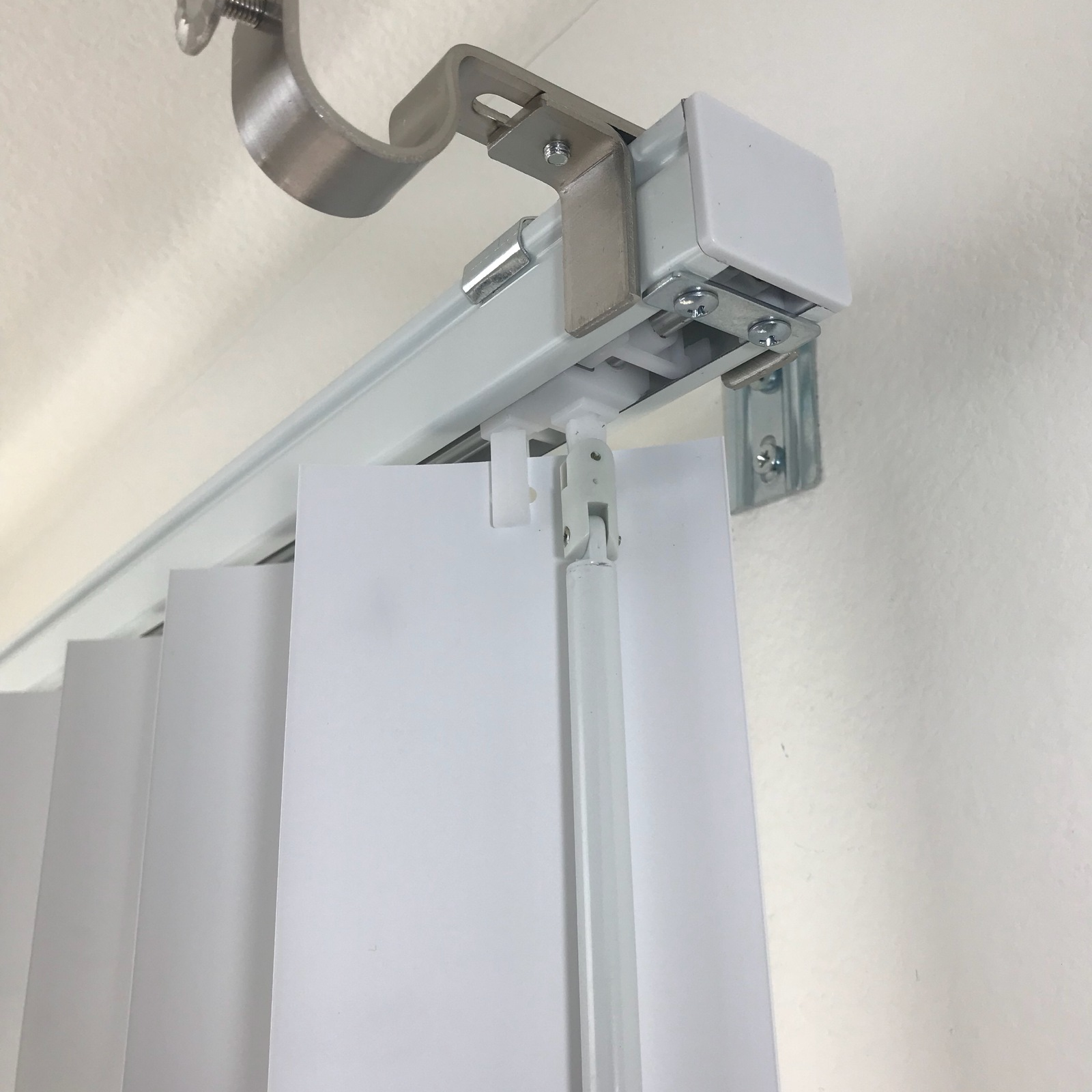 Shower Curtain Rods Curtain Rod Bracket Attachment For