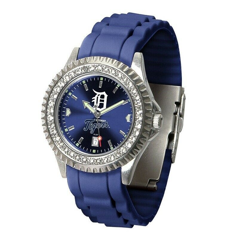MLB Detroit Tigers Women's Sparkle Watch - $56.83