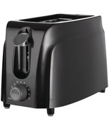 Brentwood Appliances TS-260B Cool-Touch 2-Slice Toaster (Black) - $29.34
