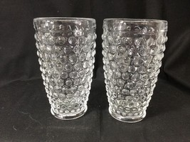 O'Keefe Wilmore Hobnail Clear Iced Tea Tumbler Glass Set of 2 - $19.79
