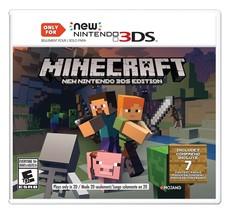 Minecraft: New Nintendo 3DS Edition - Nintendo 3DS - $22.43