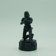 Star Wars Saga Black Imperial Storm Trooper Pawn Chess Replacement Game ... - $9.99