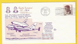 Shuttle Enterprise 747 IC-4 Edwards CA 1977年2月28日空间航行 -  1.98美元