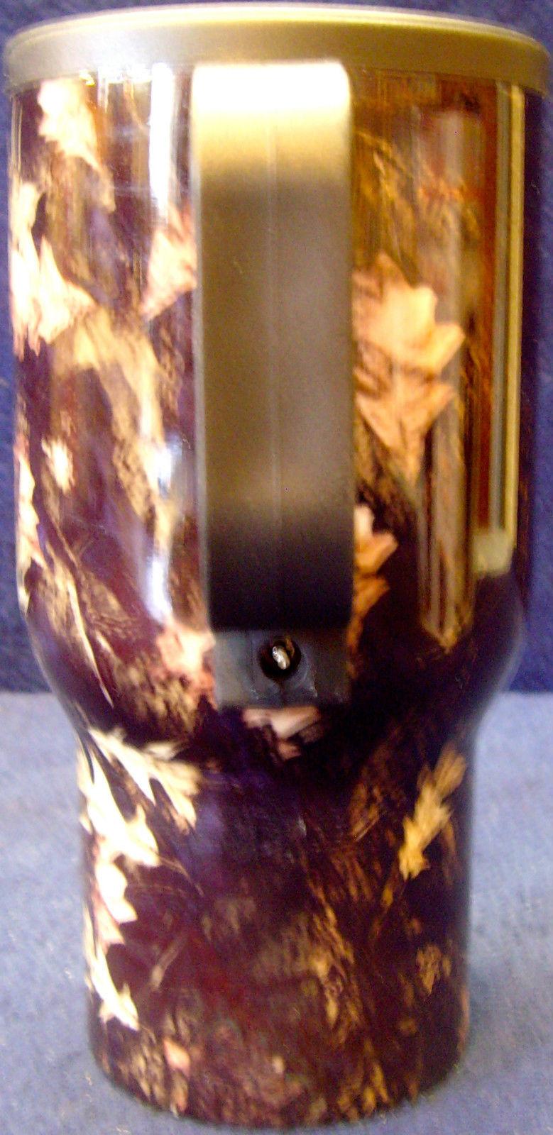 NEW•5 Minute Fix-It•Camouflage•13 oz•Heated Car Mug•w/Original Box/Adapter/Paper