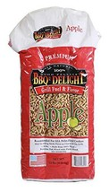 BBQR's Delight Apple Wood Smoker Pellets 10 Pound Bag -All Types of Smok... - $20.62