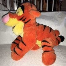 Disney Store Tigger Plush - Winnie the Pooh - Large 22'' Curly Tail VERY... - $27.71