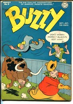 Buzzy #9 1946-DC-wacky cover-crazy stories-FN- - $84.43