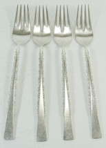 SET OF 4 SALAD FORKS CAMILLE INTERNATIONAL DEEPSILVER SILVERPLATE  -L3 - $14.99