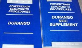 2002 Dodge Durango Powertrain Diagnostics Procedures Service Repair Manual Set - $32.54