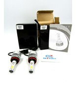 Pair of S2 LED H11 LED Auto Headlight Conversion Kit (DDS20H11) - NEW - $19.75