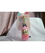 Dog Toy (new) CHAMPAGNE KISSES - PINK & GOLD BOTTLE -SQUEAKER LOVERS - £12.42 GBP