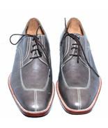 Men's Gray Color Genuine Leather Split Toe Laceup {Premium Quality Leather Shoes - $139.55 - $169.55
