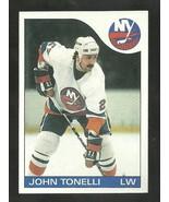 1985-86 TOPPS SET BREAK #41 JOHN TONELLI ISLANDERS NM-MT FREE SHIPPING  - $2.99