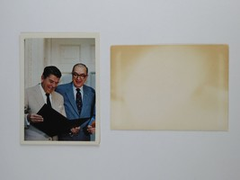 President Ronald Reagan Vintage Jesse Helms for Senate Campaign Card w/ ... - $14.70