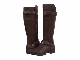 New UGG Australia Women Dayle Leather Tall Boots Lodge Color Size 8.5 - $222.64