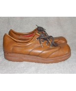 Fasinator Vintage Brown LOAFER Lace Up 8.5 For Women Used - $34.64