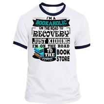 I'm A Bookaholic On The Road T Shirt, Being A Reader T Shirt, Awesome T-Shirts - $23.99+