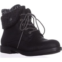 Cliffs by White Mountain Duena Lace-Up Boots, Black Multi, 7.5 US - $40.31
