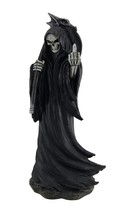 Zeckos Resin Statues Grim Grouch Reaper Flipping Bird Hand Painted Figur... - $23.11