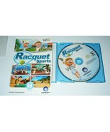 Racquet Sports Nintendo Wii 2010 Video Game Disc & Manual - $9.90