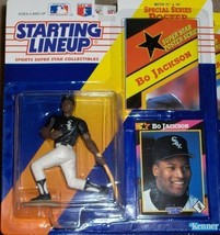 Bo Jackson Chicago White Sox Starting Lineup MLB Action Figure NIB NIP 1992 - $16.33