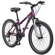 "Outdoor Girl's Mountain Bike 24"" Schwinn Sidewinder Purple Bicycle Durable Alloy - $182.35"